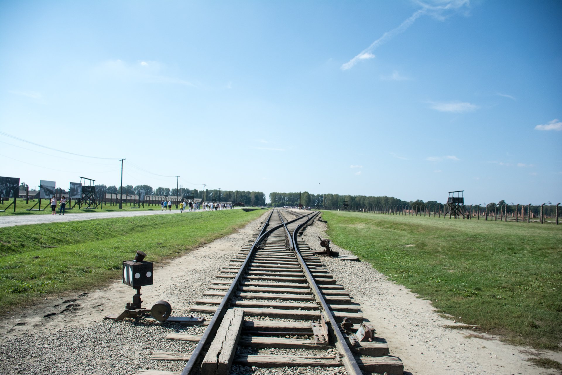 Remainings of the old railroad.